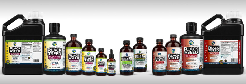 Black Seed Pure Oils & EFA Blends